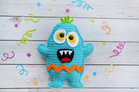 Amigurumi Monster Free Crochet Pattern - Amigurumi Free Pic2re | 320x480